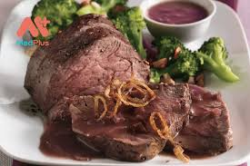 Beef with redwine sauce